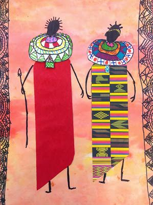 African Art of all sorts, not just masks #abstractart #africanart #modernart…