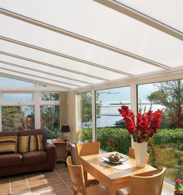 Our LEAN-TO range. Originally devised as a simple greenhouse in which to protect delicate plants and vegetables from the vagaries of the weather, the lean-to has now evolved into one of the most robust and adaptable forms of household conservatory #home #conservatories