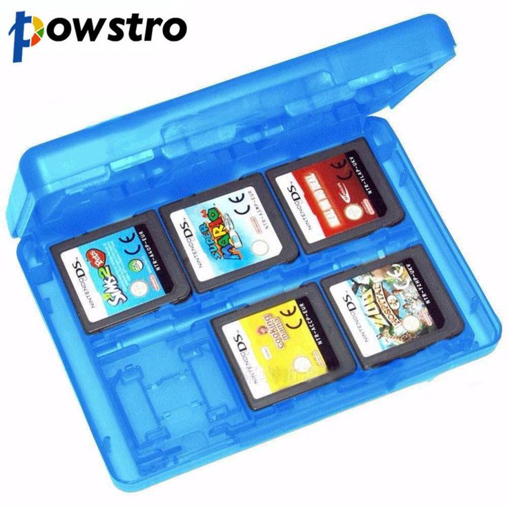 24-in-1 Game Card Cartridge Holder Micro SD Storage Case Box For Nintendo3DS XL