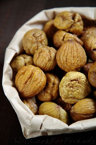 Chestnuts – how to roast, boil, and shell them, and what to do with them after Growing up, I always thought of chestnuts as a bit of a luxury. Every year my step dad would take on the job of roasting and peeling them to add to the Thanksgiving stuffing, and every year I would …