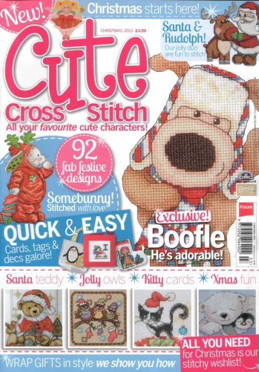 Cute Cross Stitch Christmas 2013 Saved