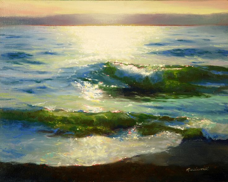 Ocean of Light (16 x 20 in oil)