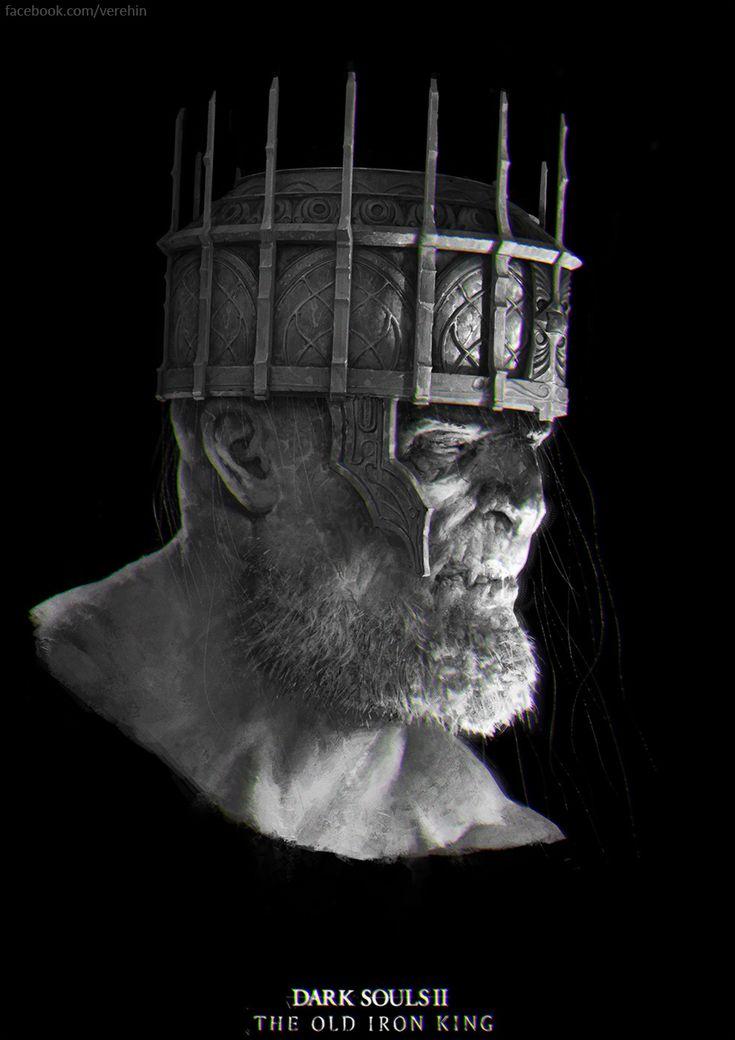 Dark Souls 2  The Old Iron king by Verehin.deviantart.com on @DeviantArt
