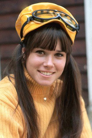 Barbara Hershey Wearing Hat and Goggles--------Barbara Hershey Then