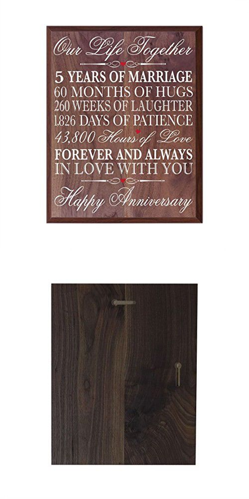 5th Anniversary Gifts Decorations Women Men Couple 5 Year Wedding