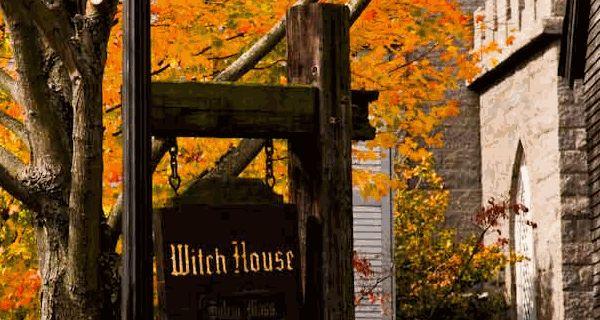 Halloween Season in Salem, Massachusetts