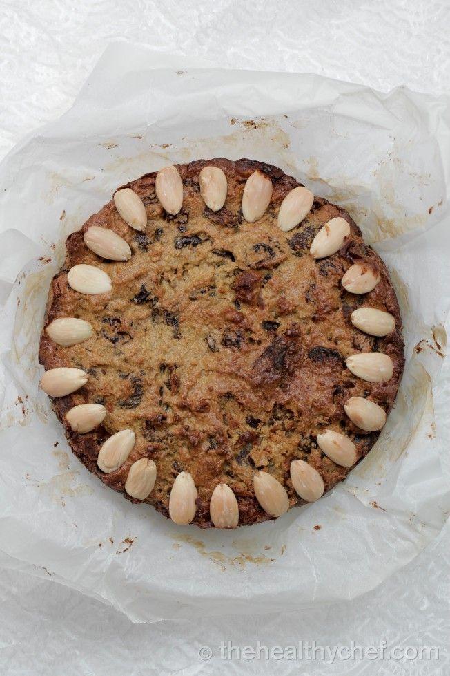 Organic Christmas Cake