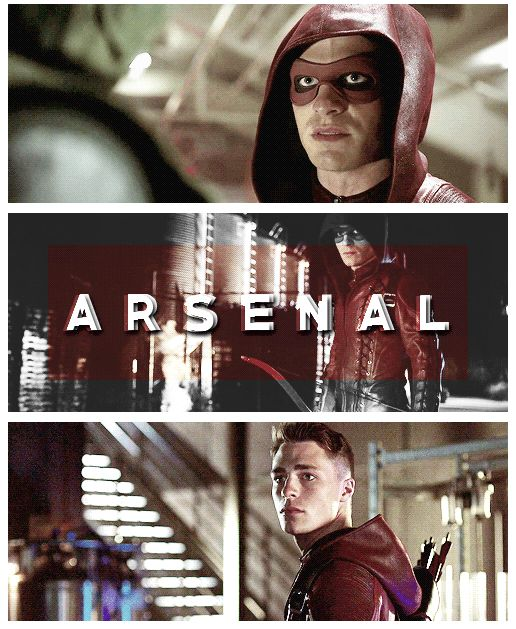 Arrow - Roy Harper #3.1 #Season3