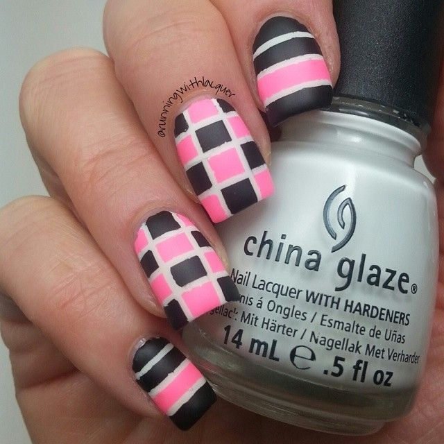 Tape Nail Art Designs: 17 Best Ideas About Tape Nail Art On Pinterest