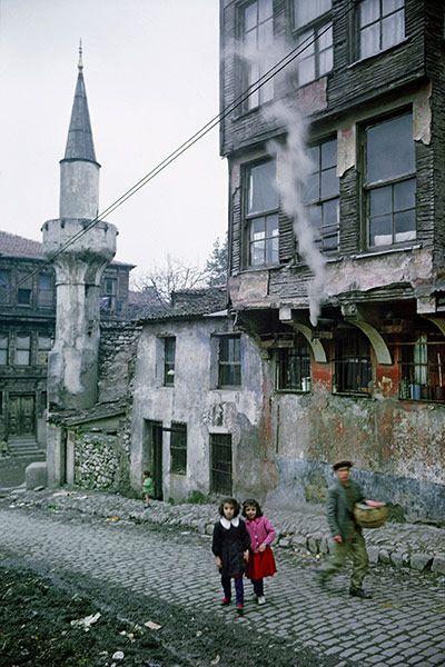 Credit: Ara Guler/Magnum Istanbul street scene, 1968 #Vintage #Istanbul #pictures