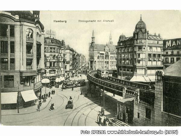 Rödingsmarkt, 20459 Hamburg - Hamburg-Altstadt (1905)