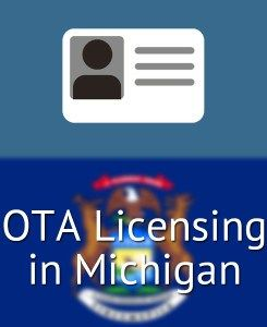 Follow this step by step application process to obtain a Occupational Therapist Assistant (#OTA) License in #Michigan (MI)