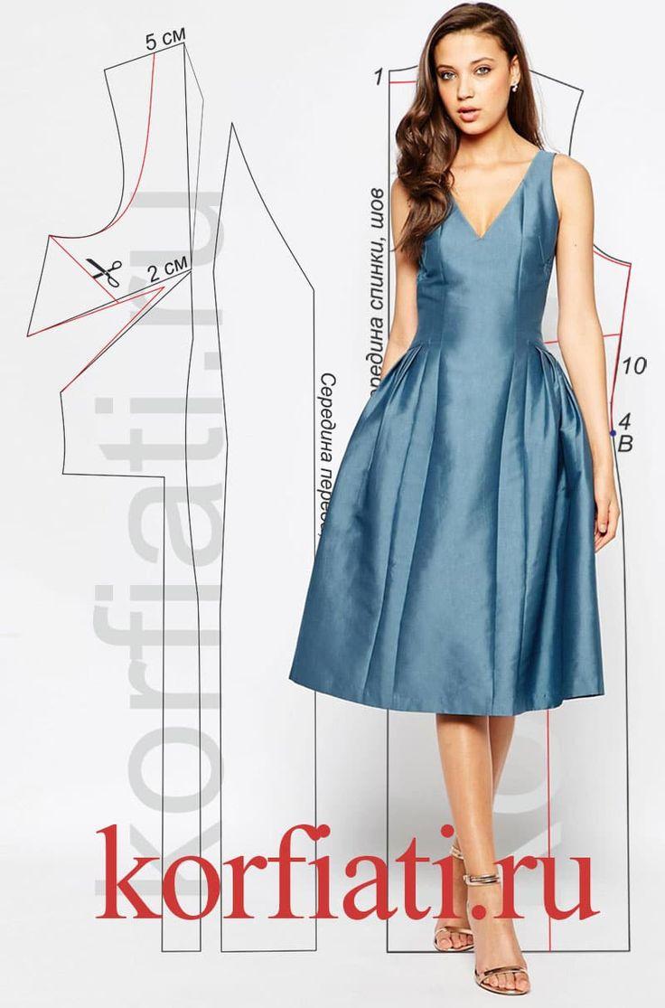 Предлагаем вам самые точные выкройки платьев на любой вкус и для любого случаяот ШКОЛЫ ШИТЬЯ Анастасии Корфиати. Креативные идеи и модные решения!