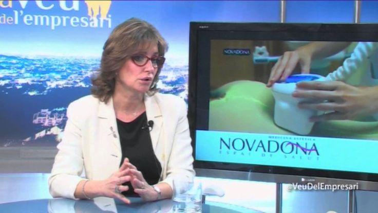 La Veu de l'Empresari Alfred Salud con Dra. Inma González Novadona