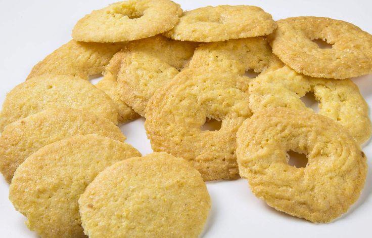 Paste di meliga o biscotti di granoturco fatti con Imperia Cookies