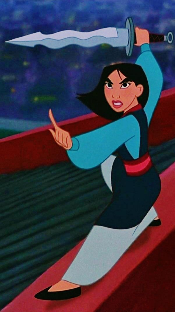 Disney Challenge Day 22: Bravest Princess - Mulan. Oh yes. Took her father's place in the war and saved her country. I'm sorry, how awesome is she?!