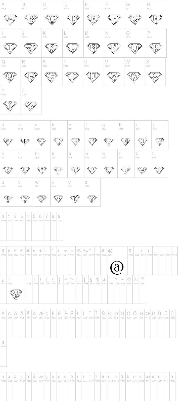 Superman S Font Cricut Projects Pinterest