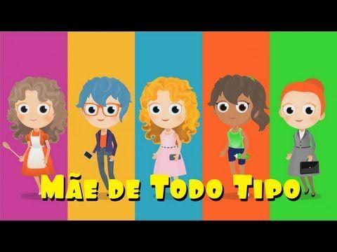 ▶ Mãe de Todo Tipo (INÉDITA) - DVD Infantil A Turma do Seu Lobato Volume 2 - YouTube