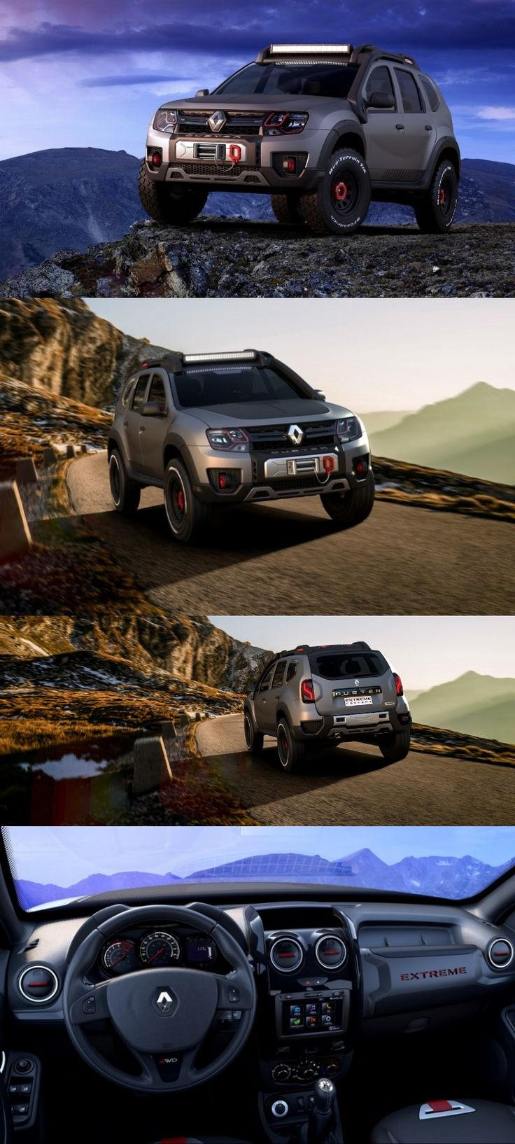 Sao paulo auto show 2016 renault duster extreme concept displayed renault pinterest news autos and sao paulo