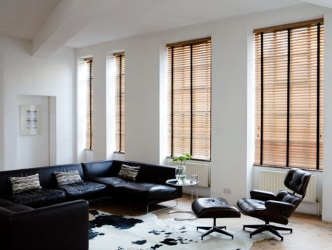 Fully made to measure from - £26  this is a tawny coloured Wood Venetian Blind with jet tapes from our Sunwood range. Elegant and practical offering great light control and a classic look. #blinds #orderblindsonline Please Re-Pin and visit us on Facebook https://www.facebook.com/orderblindsonline?ref=hl