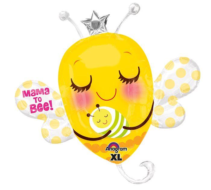 We are buzzing about this new Mama To Be Balloon! #bee #balloon #buzz #burtonandburton