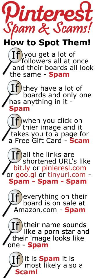 How to Identify Spam on Pinterest