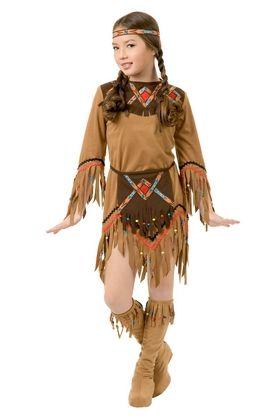 Costume de la Fille Indienne Cygne Blanc