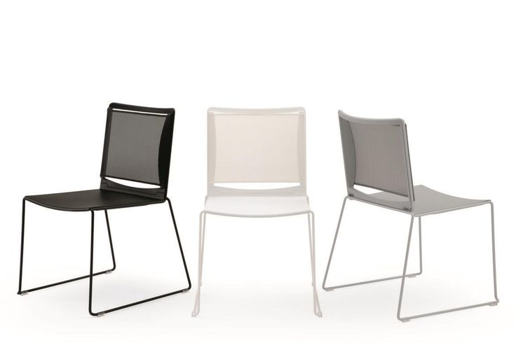 Multi Mesh, chair with mesh backrest  #ibebi #newcatalogue #innovation #design #chairs #modernchairs #mesh