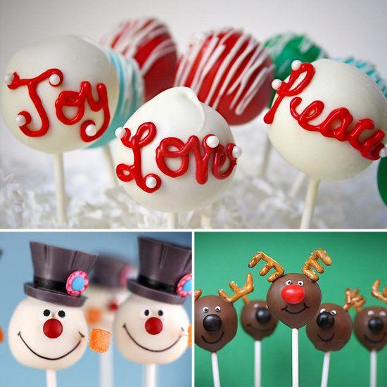 Easy christmas cake pops recipes