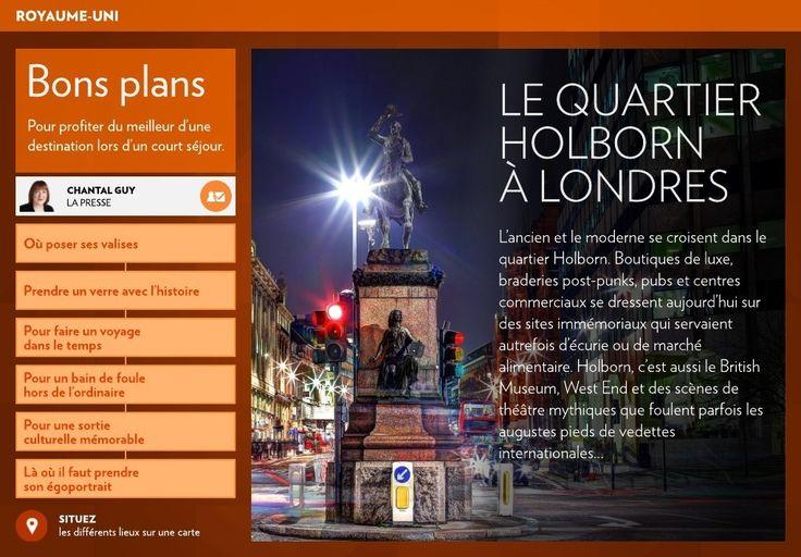 Le quartier Holborn de Londres - La Presse+