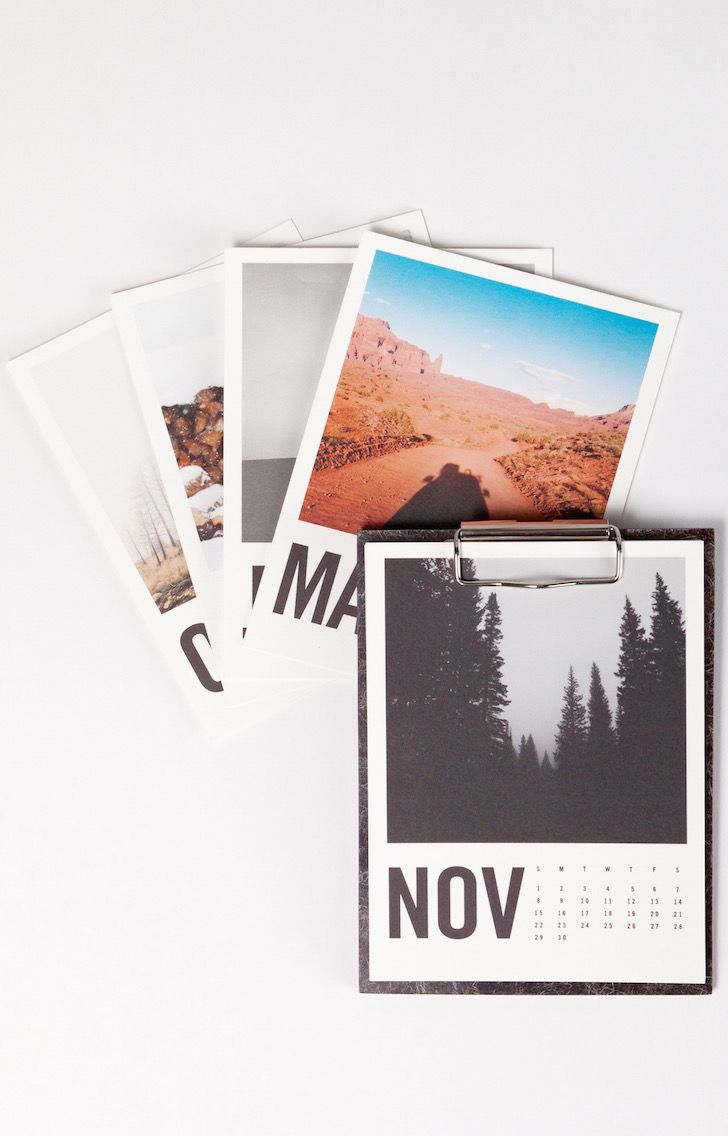 The @artifactuprsng Solid Wool Calendar | Using fleece from upland UK sheep, our friends from Solidwool™ have created a unique, sustainable and beautiful composite – now brought to life as a clipboard. This 2016 gift calendar can be customized with your photos – printed on premium quality paper.
