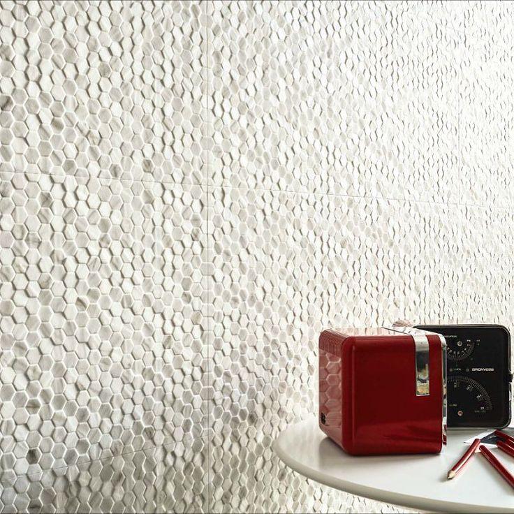 Three-dimensional surface that convey originality to any #interior . Our new Marmi Reali collection by #ceramichepiemme #ceramicsofitaly #madeinitaly #saranatile #porcelain #tiles# walltiles#tile #tiletuesday #tilework #tileaddiction #yyz #gta #tilecontractor #interiordesign #interiorstyling #tiledesign by saranatile