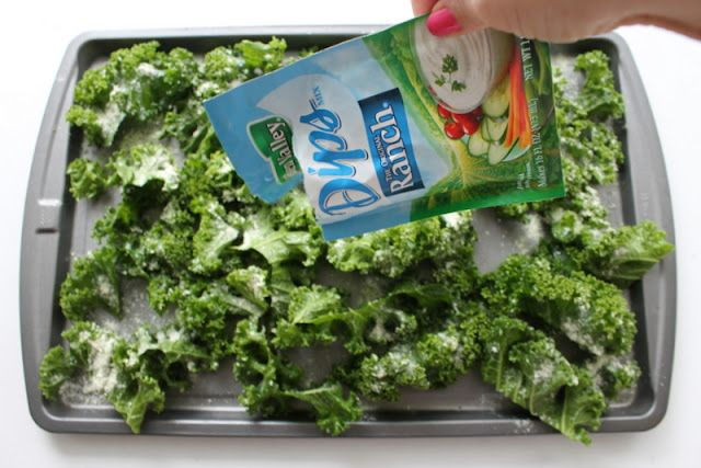 That's so Michelle: Easy Ranch Kale Chips {Easy, delicious recipe!}