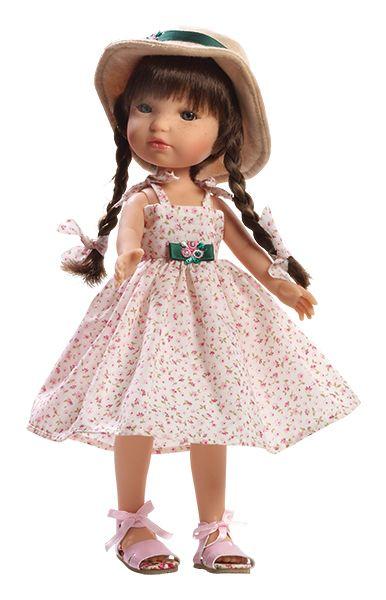 Realistická panenka - holčička Marcela od firmy Berjuan
