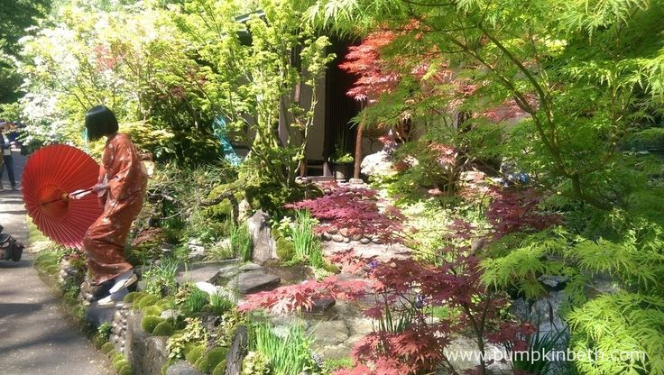 The Edo no Niwa - Edo Garden, designed by Kazuyuki Ishihara and built by Ishihara Kazuyuki Design Laboratory, won a Gold Medal in the Artisan category.  The garden was sponsored by Cat's Co Ltd.