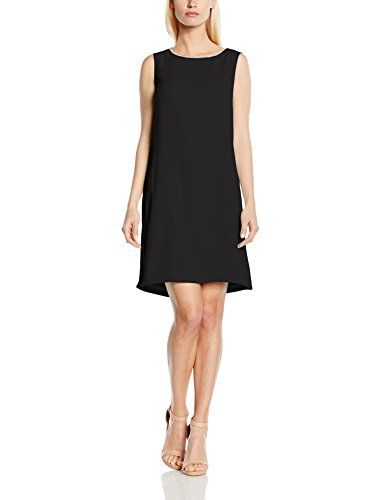ESPRIT Collection Damen Etui Kleid 045EO1E016, Knielang, Einfarbig, Gr. 36, Schwarz (BLACK 001) http://www.damenfashion.net/shop/esprit-collection-damen-etui-kleid-045eo1e016-knielang-einfarbig-gr-36-schwarz-black-001/