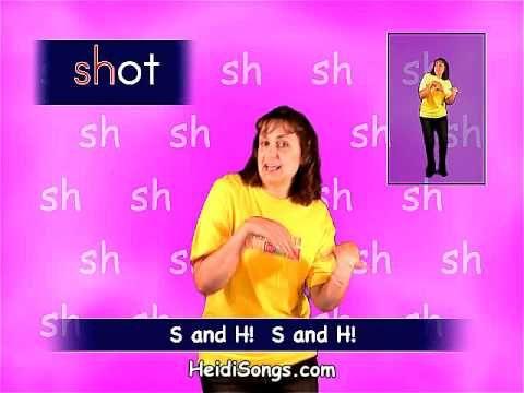 ▶ Phonics song - Sounds Fun 'Sh' Quiet Girl - YouTube