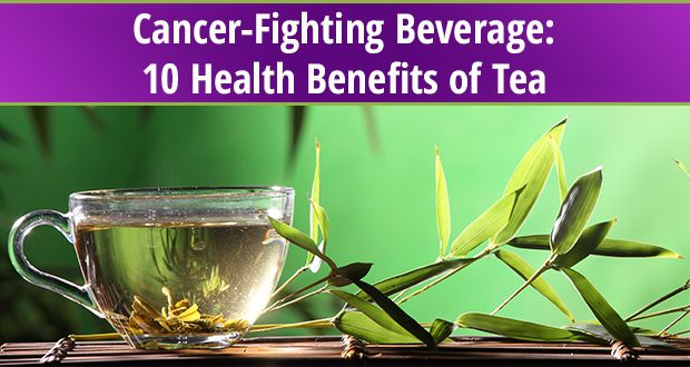 Exploring the health benefits of tea
