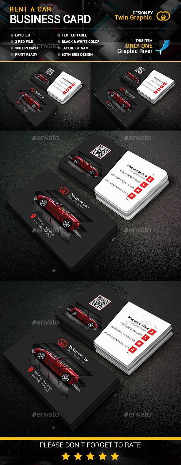 116 best business card images on pinterest cards business cards rent car business card design magicingreecefo Images