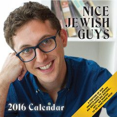 More variety than ever! Now, the  2016 Nice Jewish Guy's Calendar features an array of menches including: Gil the EMT, Ari the actor, and Jake the astronomy hob