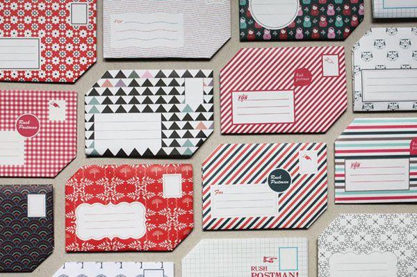 The Pli Postal Stationery Print Design Inspiration