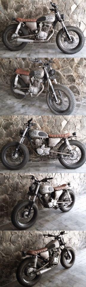 Unfinished Koboi Kota Motorcycle #GL200 #Honda #Scrambler #Japstyle #Tracker