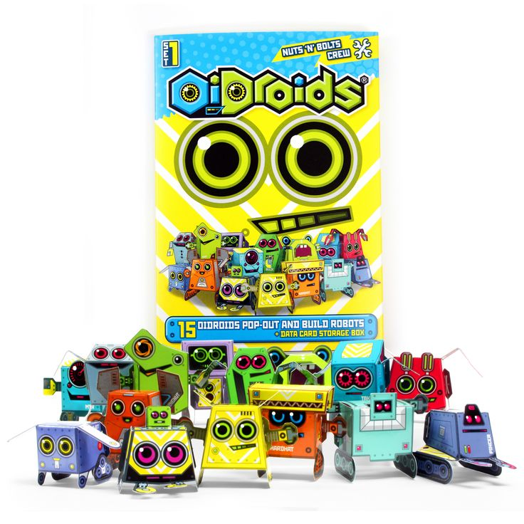 OiDroids Nuts 'n' Bolts Crew Set 1