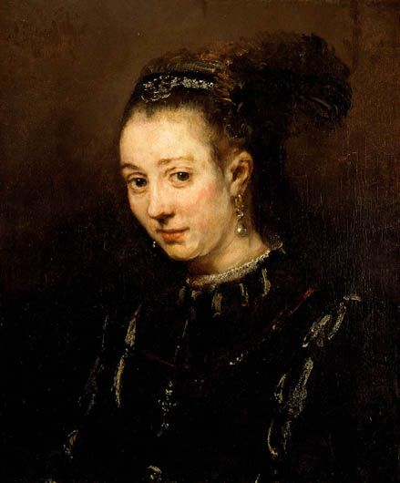 Rembrandt, Portrait of a Young Woman, possibly Magdalena van Loo, 1668