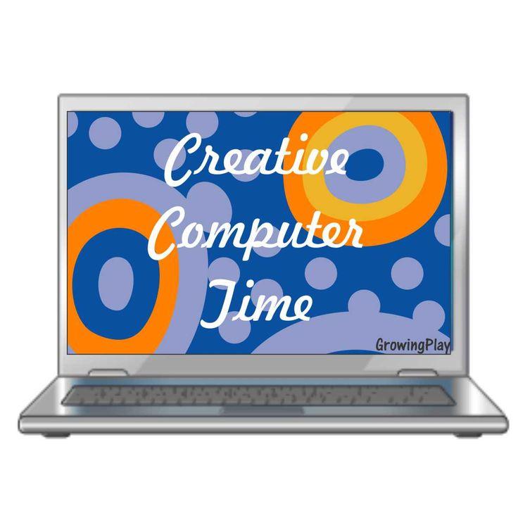 5 Creative Computer Activities for kids