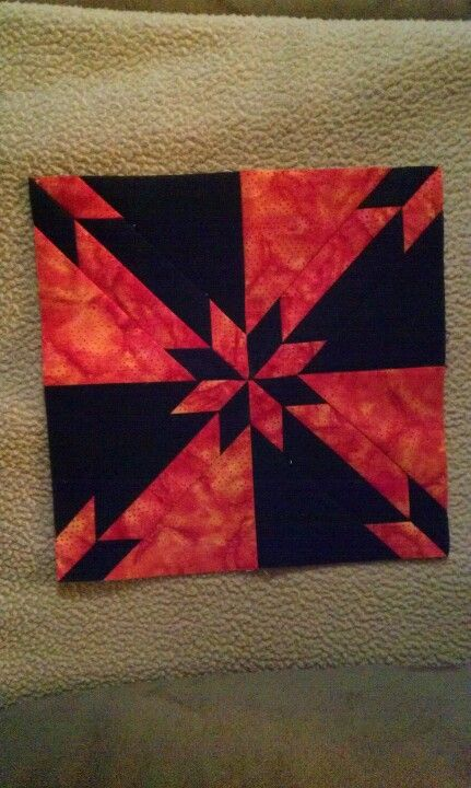 Hunter's Star quilt I'm working on for Boomer.