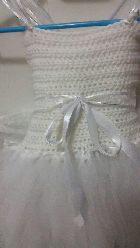 Flower girl fairy tutu dress
