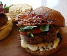 Asiago and Beef Burgers - Recipe Community