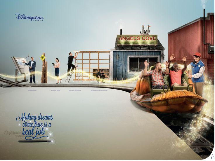 Adeevee - Disneyland Paris Careers: Real job