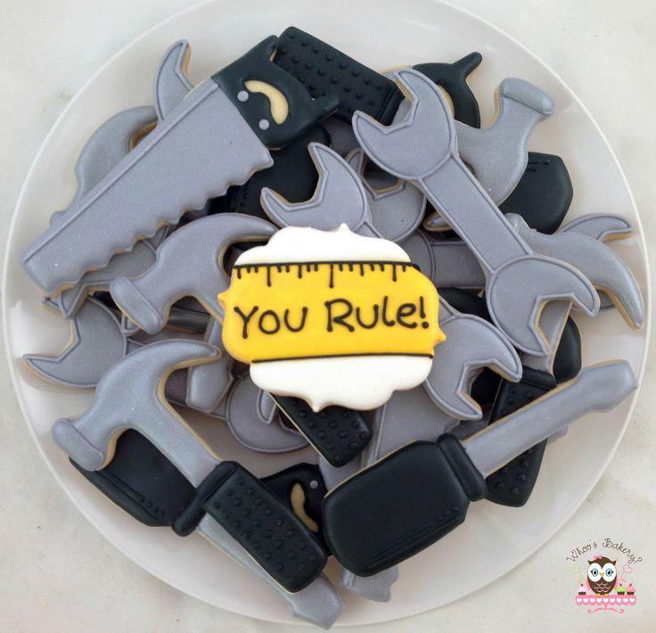 Tool cookies, maintenance appreciation week cookies ...